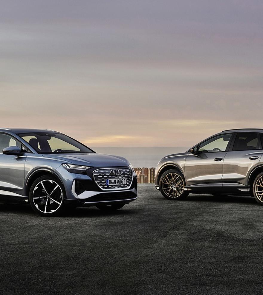 Audi Q4 e-tron y Q4 e-tron Sportback, electrificación premium desde 44.460 euros