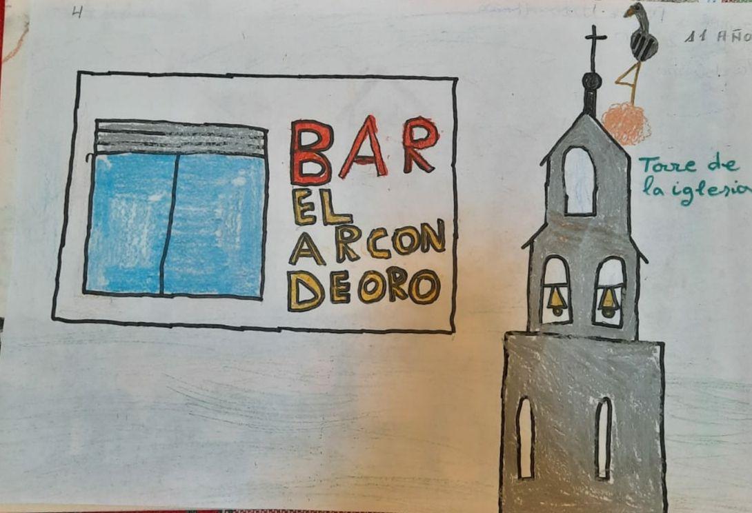 Participantes en el I Concurso de Dibujo Infantil Tardobispo 2021