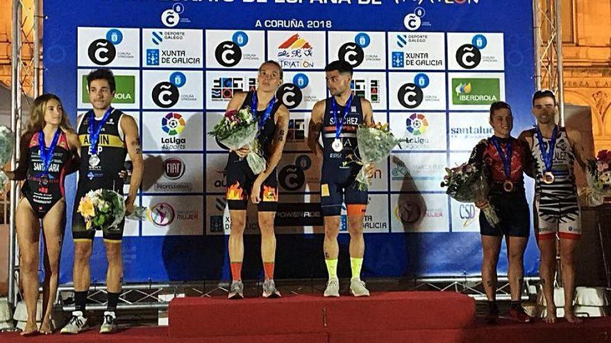 Xisca Tous se adjudica el Nacional de triatlón olímpico