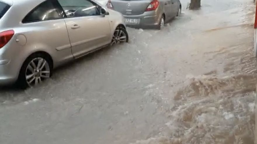 Un temporal ha azotado con  fuerza la provincia de Castellón