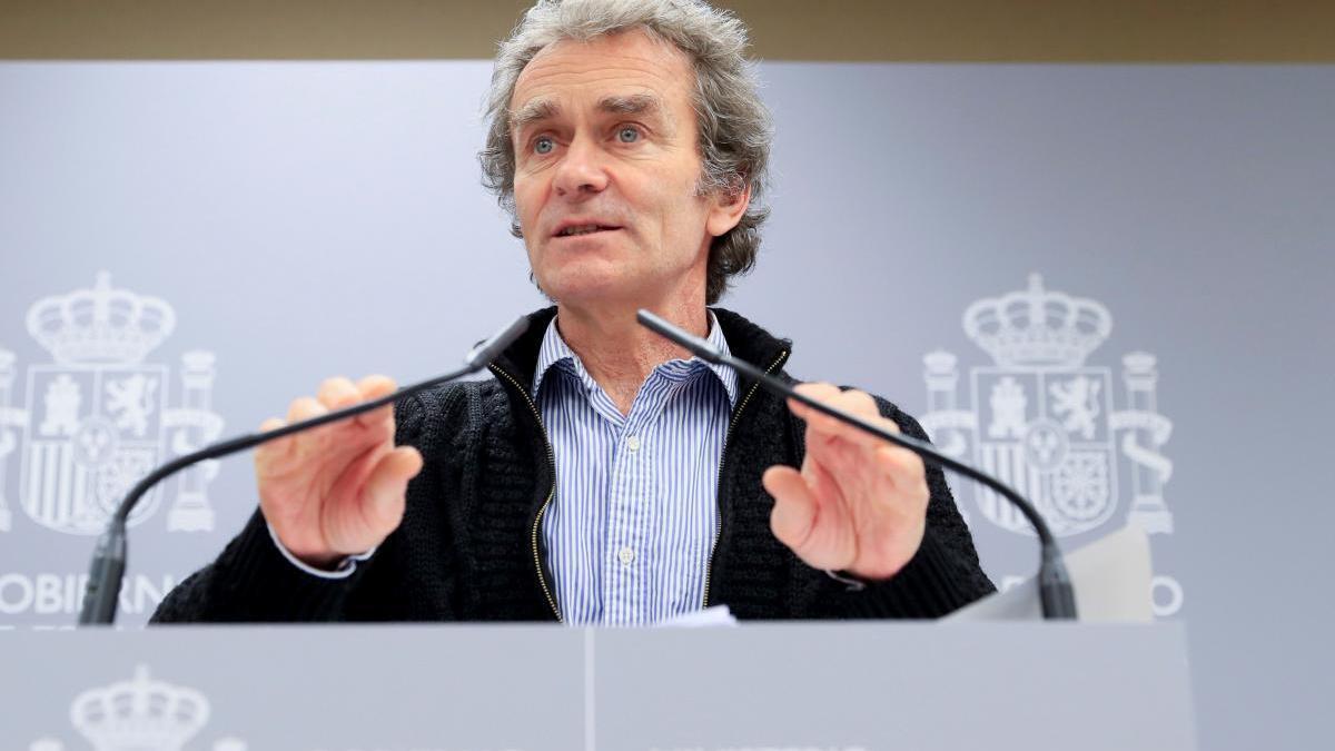 Fernando Simón ha anunciado que en unos días toda la Comunitat Valenciana irá a fase 1.