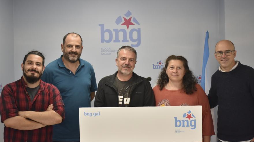 El BNG renueva su grupo municipal en Ponte Caldelas