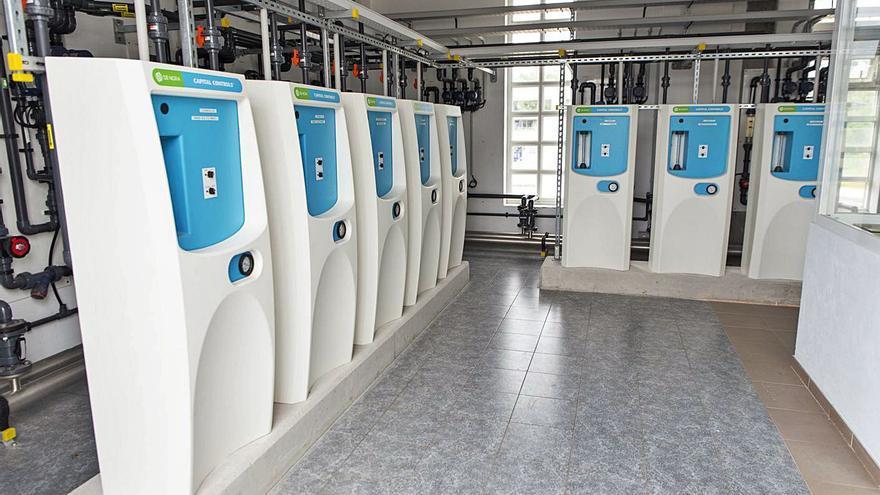 Emalcsa mejora el sistema de potabilización de la planta de A Telva