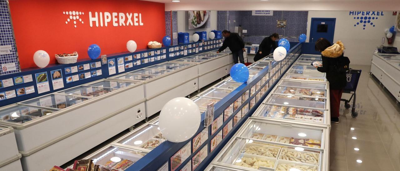 Una tienda de Hiperxel, en una imagend e archivo