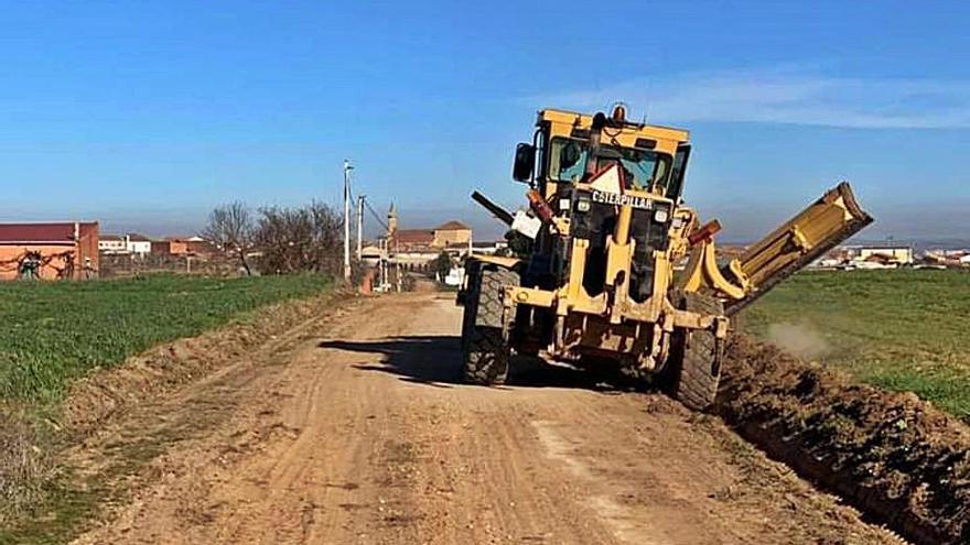 El 90% de los caminos rurales de Zamora, sin reparar por falta de recursos