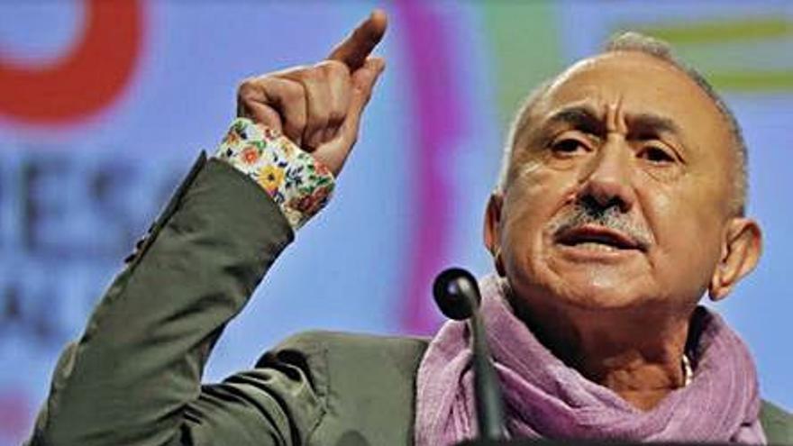 Pepe Álvarez, reelegido como líder de UGT con el 85,83% de los votos