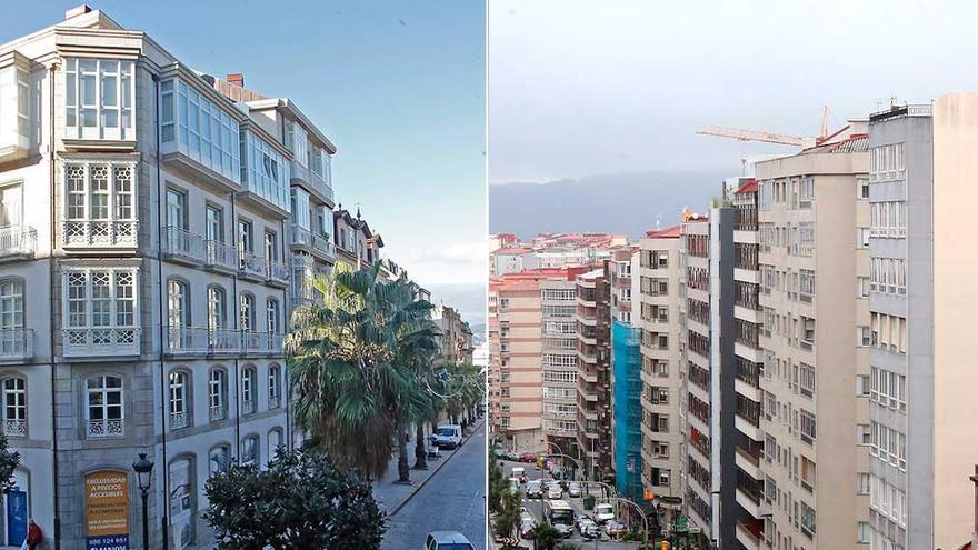 Las dos caras de la vivienda en Vigo: hasta 380.000 euros de diferencia según el barrio