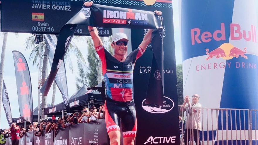 Gómez Noya se clasifica para el Mundial de Ironman