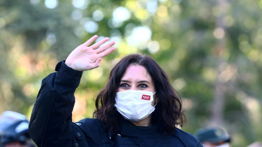 Fase final de las elecciones en Madrid