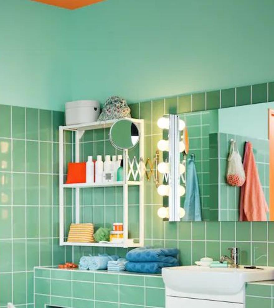 Las luces de tocador más vendidas de Ikea para iluminar tu baño como nunca
