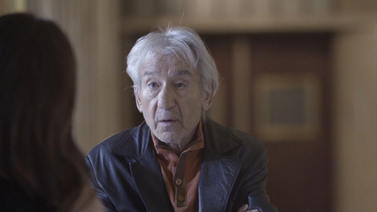 José Sacristán en 'Palo y astilla'.