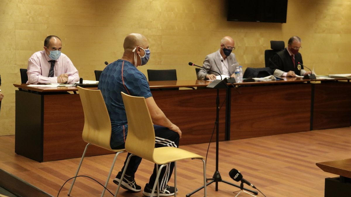 L'autor confés del crim de la Rambla de Figueres, declarant a l'Audiència de Girona