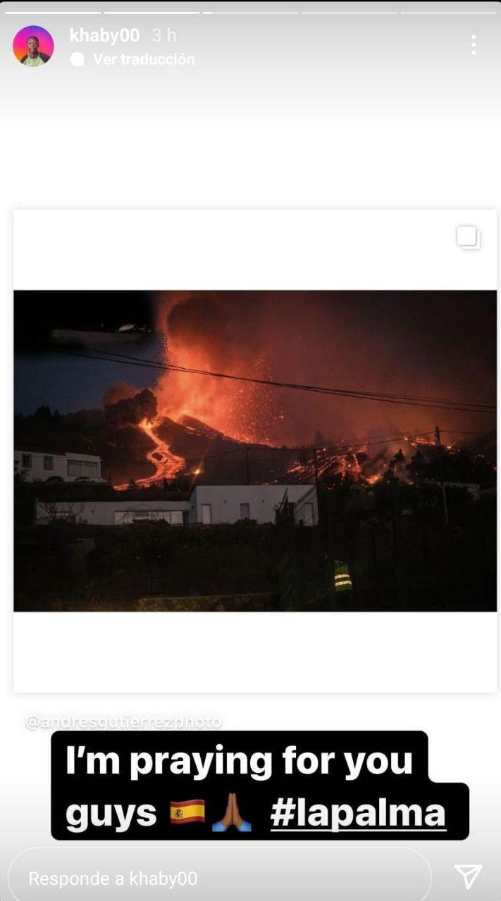 Un famoso tiktoker viraliza las imágenes de la erupción de La Palma del fotoperiodista de El Día, Andrés Gutiérrez   E. D.