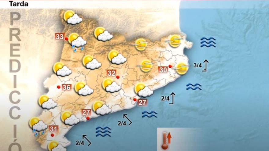 Tancament de cap de setmana de ple estiu: el pic de calor arriba aquest diumenge
