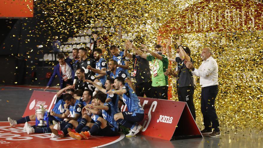 Movistar Inter gana la Copa del Rey de fútbol sala tras imponerse a ElPozo Murcia