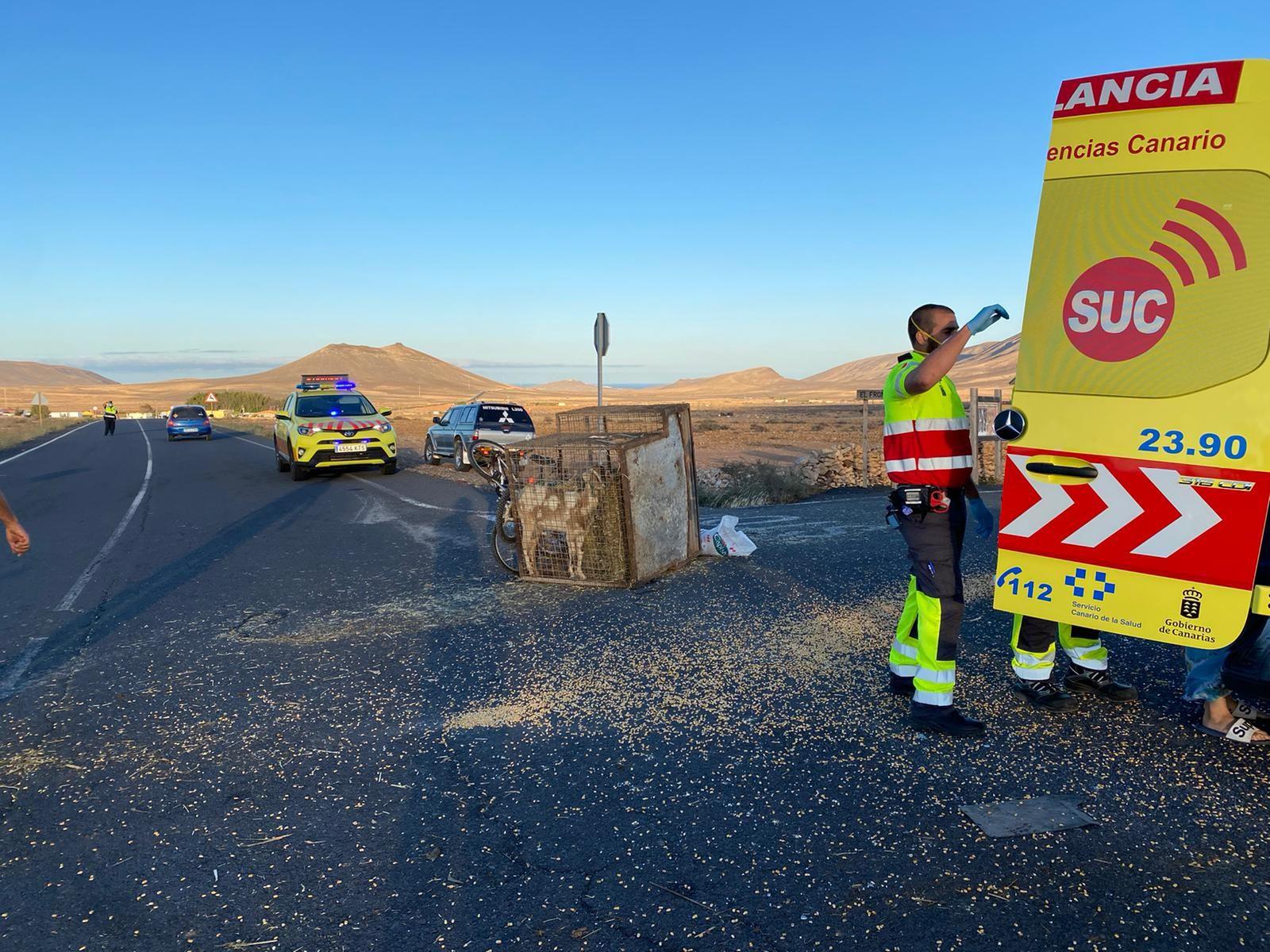 Herido grave un niño de seis años en Fuerteventura