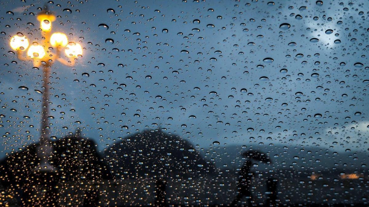 Lluvia.