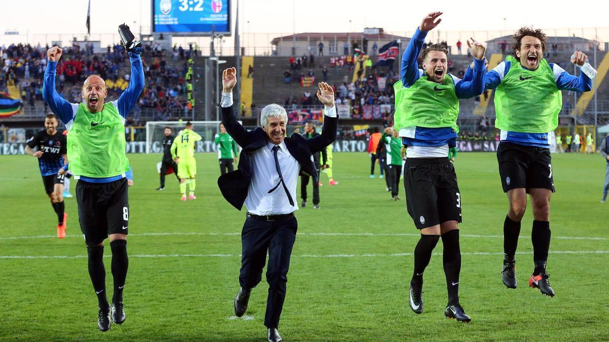 Gian Piero Gasperini, el peculiar entrenador sobre el que el Atalanta ha cimentado el espectacular crecimiento experimentado durante el último lustro.