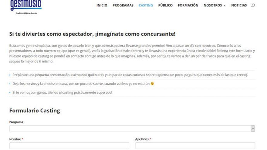 Alertan de casting falsos de 'Operación Triunfo'
