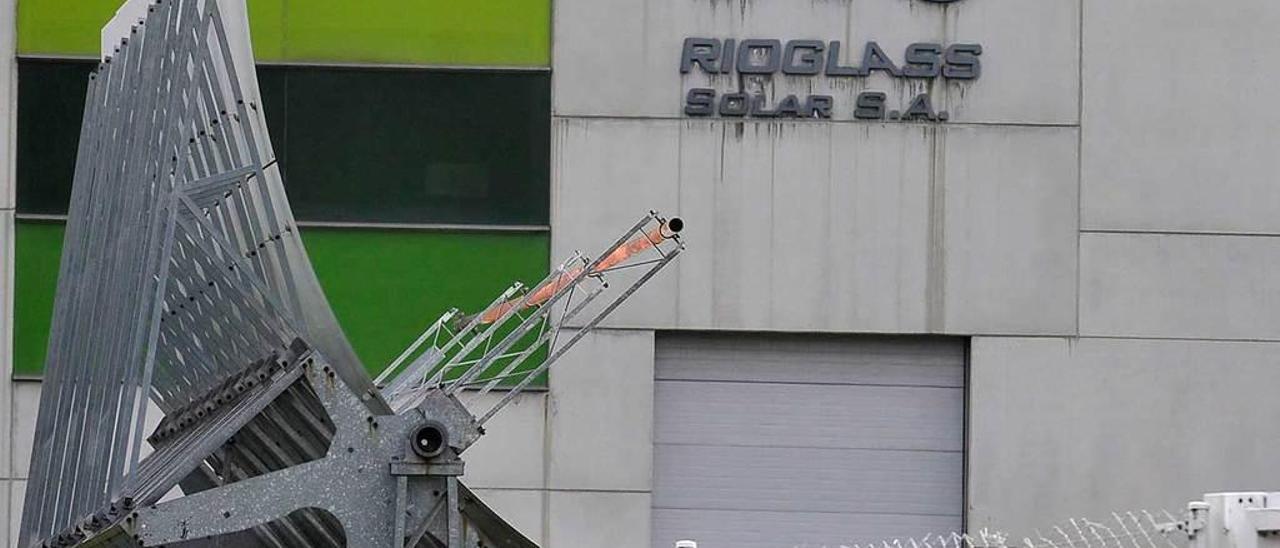 Las instalaciones de la fábrica de Rioglass Solar.