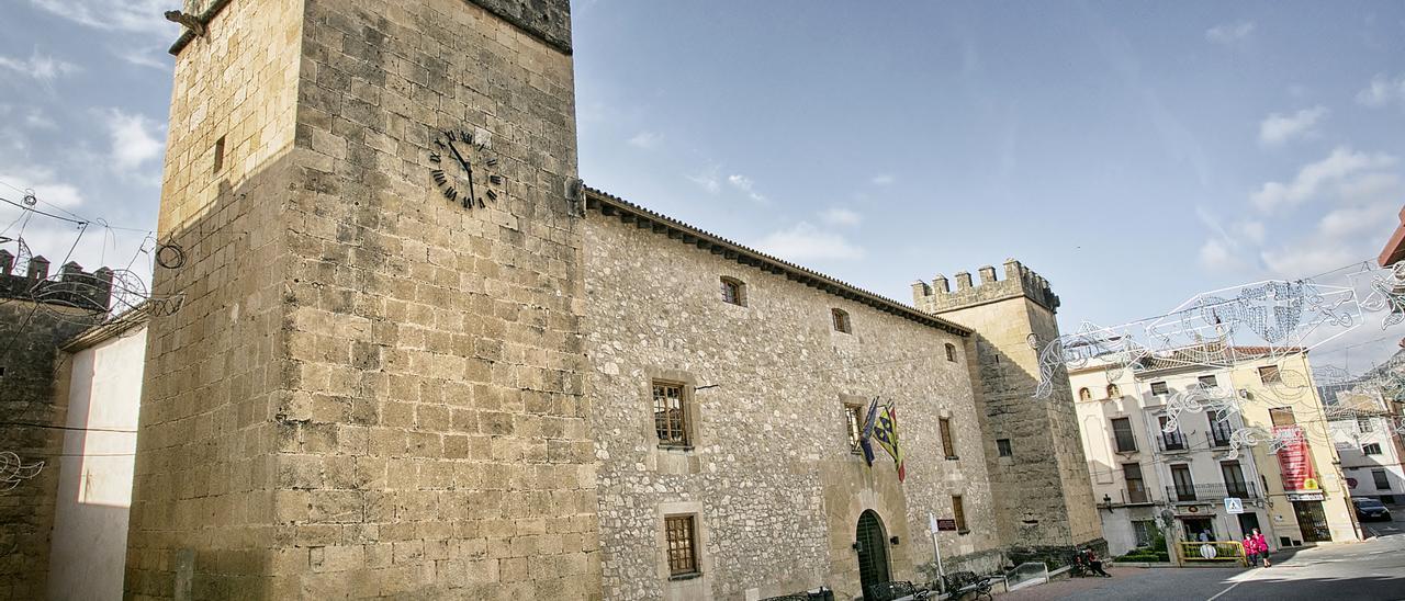 Vista reciente del Palacio del Marqués de Dos Aguas de Onil.