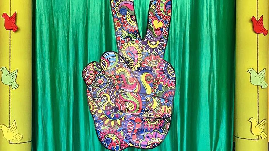 Los alumnos del instituto de Villalpando celebran el Día de la Paz