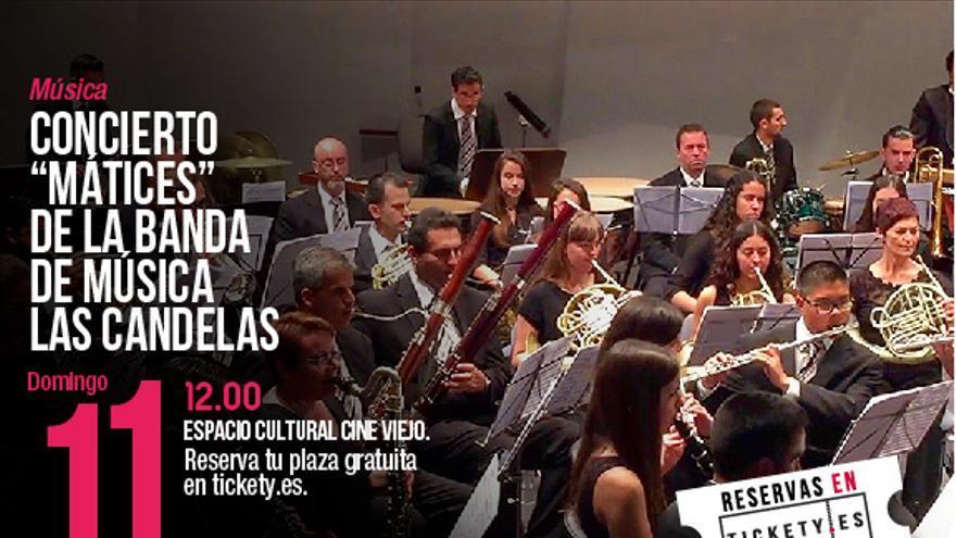 Concierto 'Matices' de la Banda de Música Las Candelas