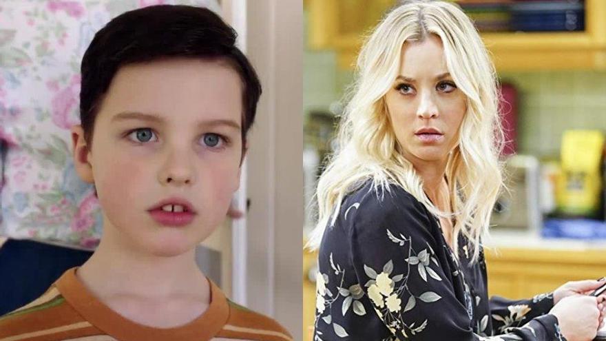 El cameo secreto de Kaley Cuoco en 'El joven Sheldon'