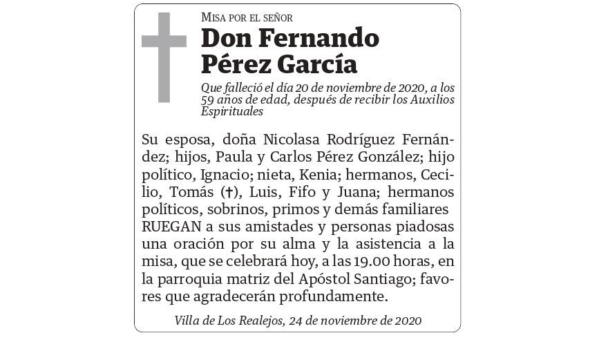 Fernando Pérez García