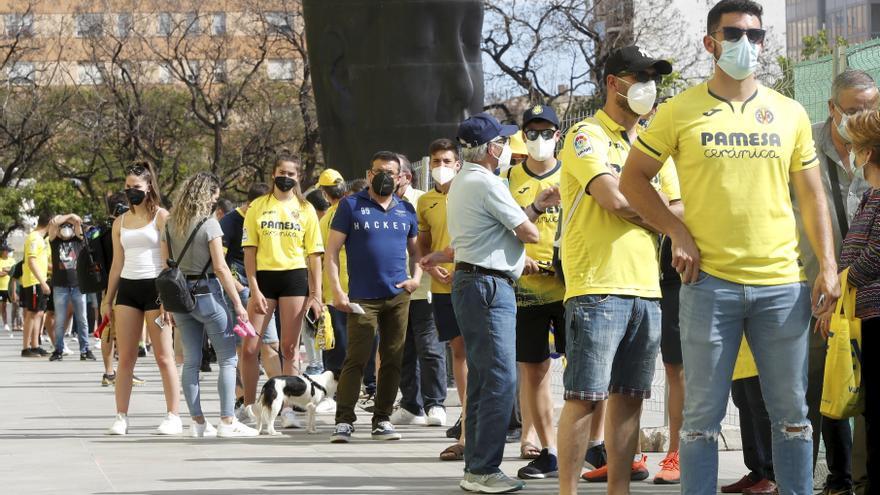 La Cerámica recuperó su alma con el regreso del público en el Villarreal-Sevilla