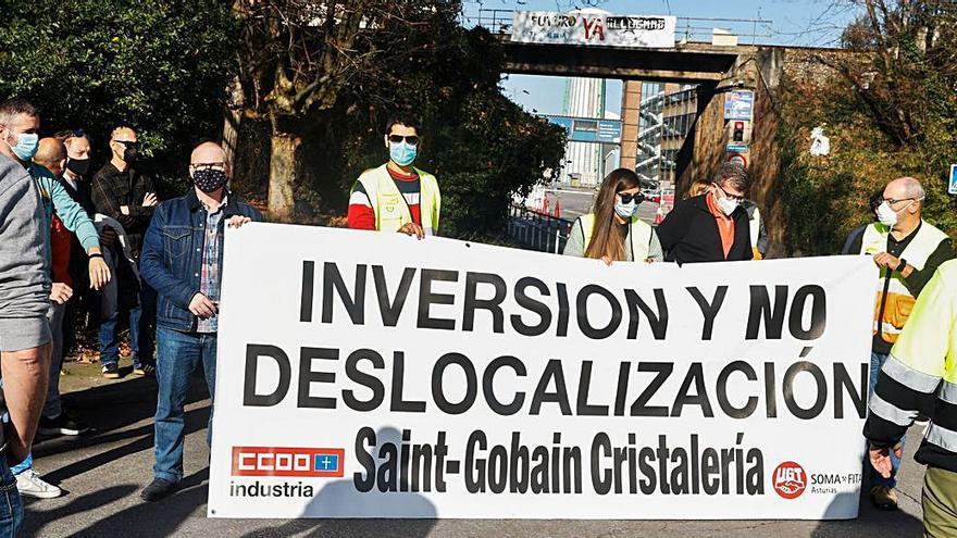 Concentración de los trabajadores de Saint-Gobain