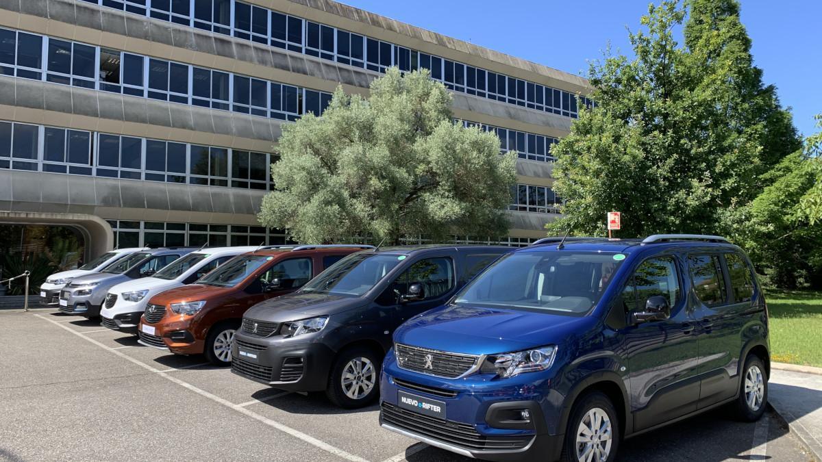 Stellantis Vigo produce seis vehículos comerciales eléctricos