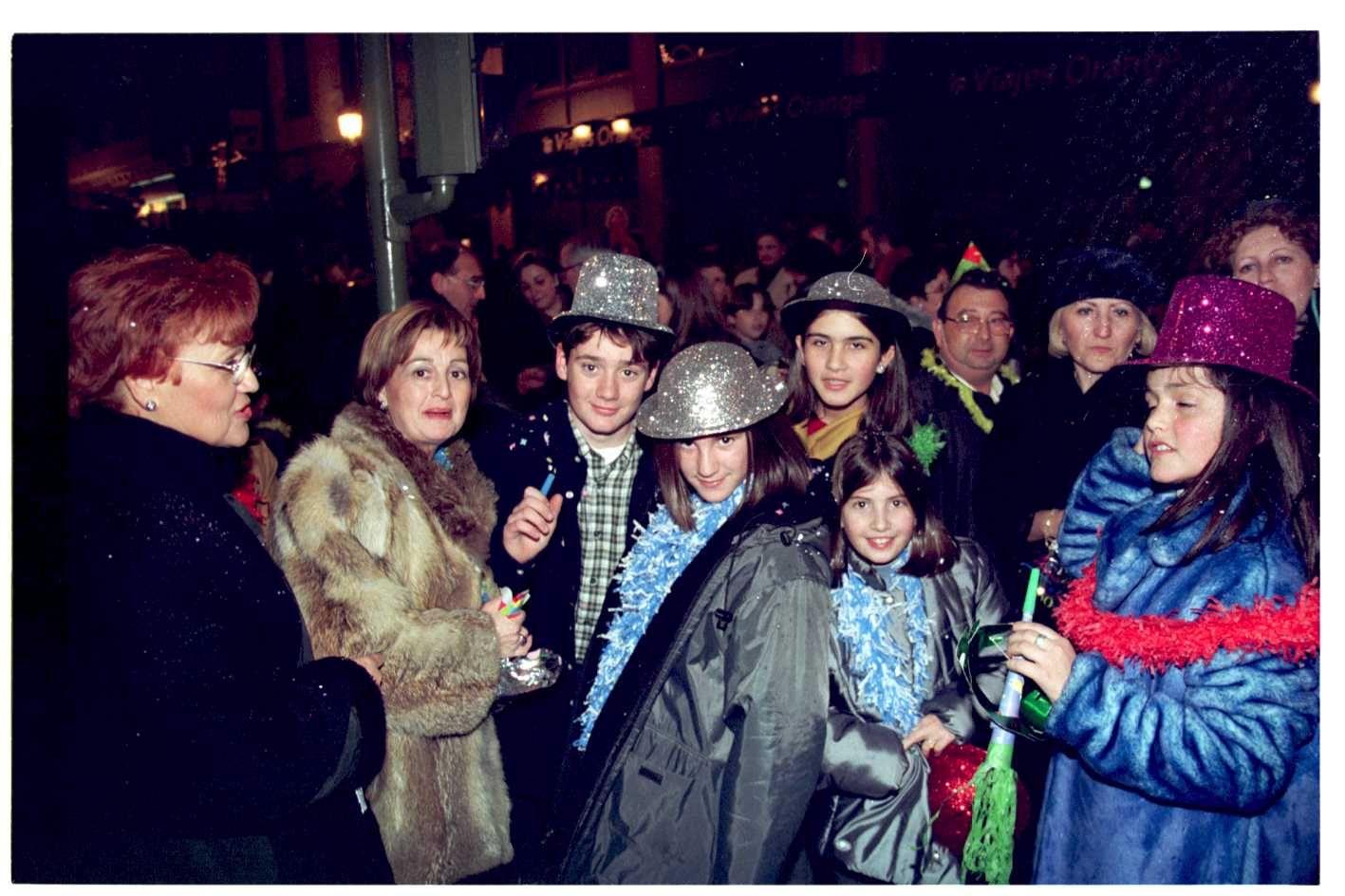 Hace 20 años. Así fue la celebración del milenio. Nochevieja de 1999