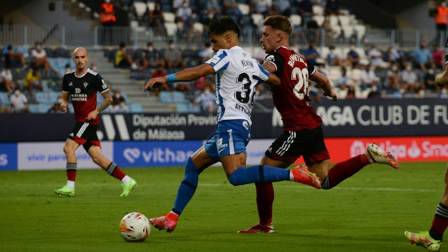 Así ha jugado el Málaga CF
