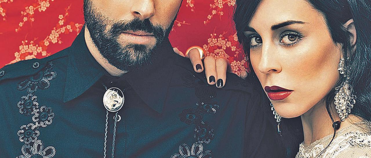 """Alejandro Acosta y Nita, de """"Fuel Fandango"""", en una imagen promocional."""