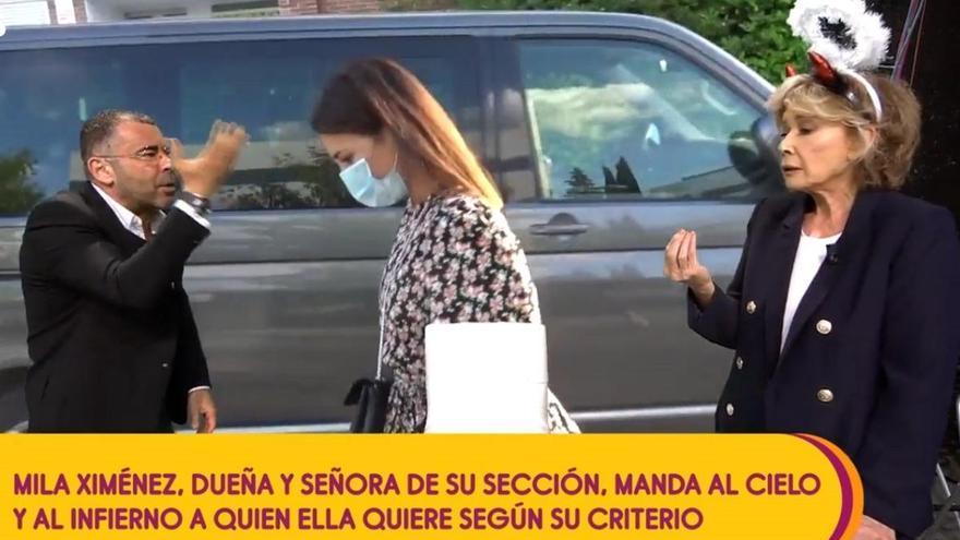 El rifirrafe de Jorge Javier y Mila Ximénez por 'culpa' de Paula Echevarría