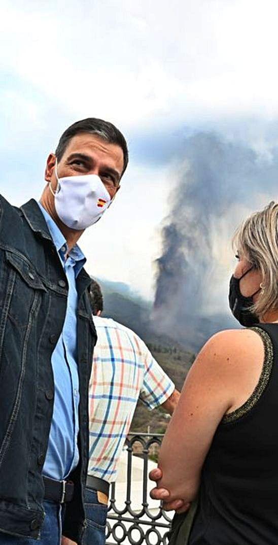 Los volcanes de Sánchez
