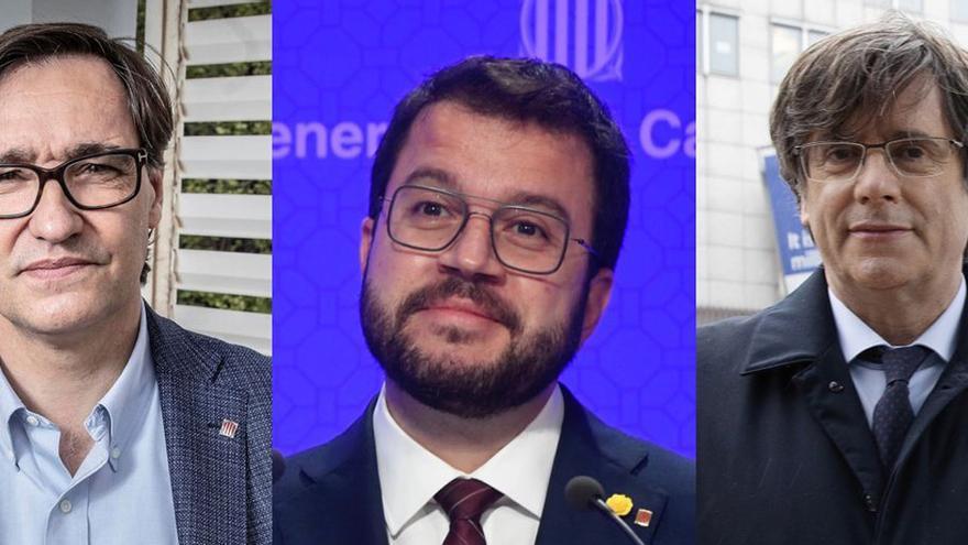 Sondeo Cataluña: Illa es el preferido como 'president' y Aragonès aventaja a Puigdemont