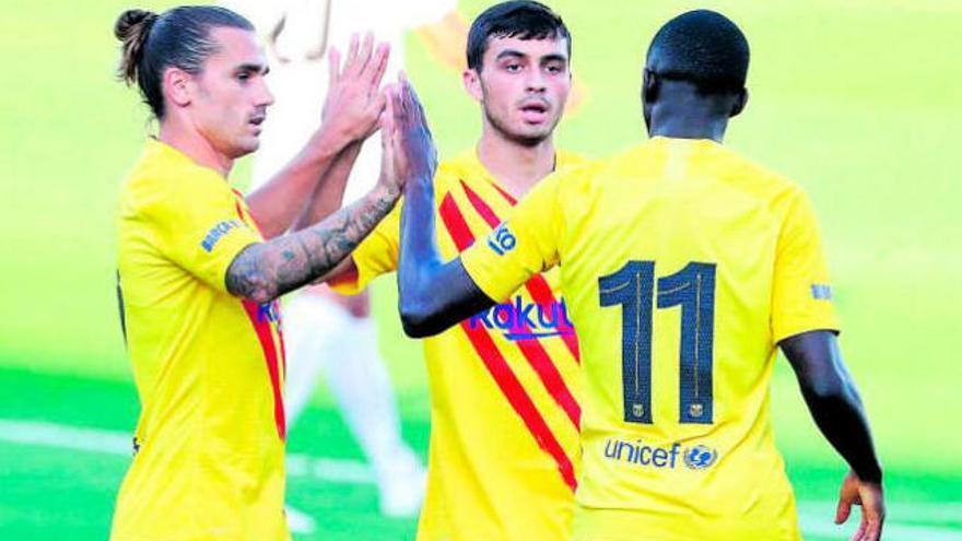 El Barça se pone a tono con Pedri