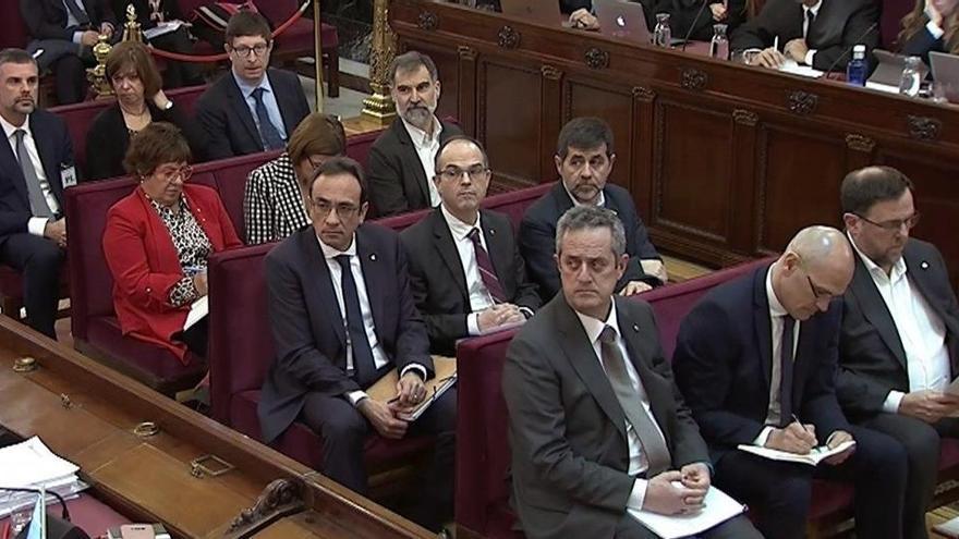 El Supremo revisa hoy el tercer grado a los presos del 'procés'