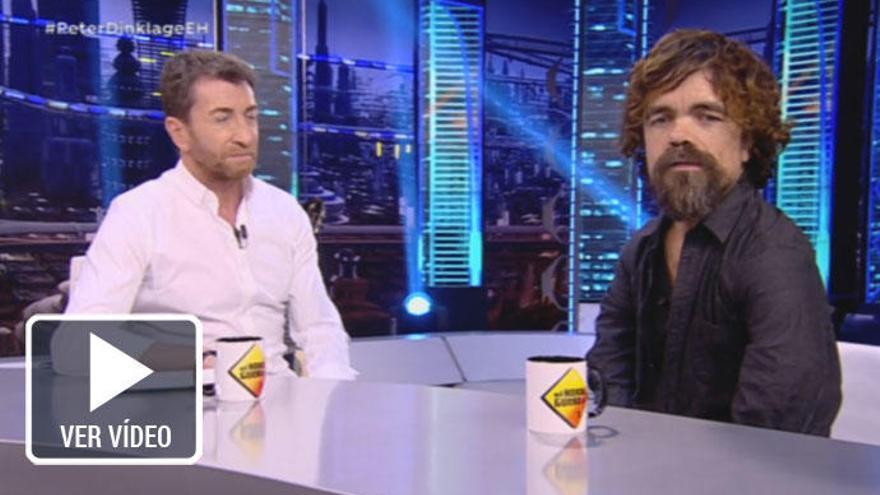 Pablo Motos 'cabrea' a los fans de Peter Dinklage