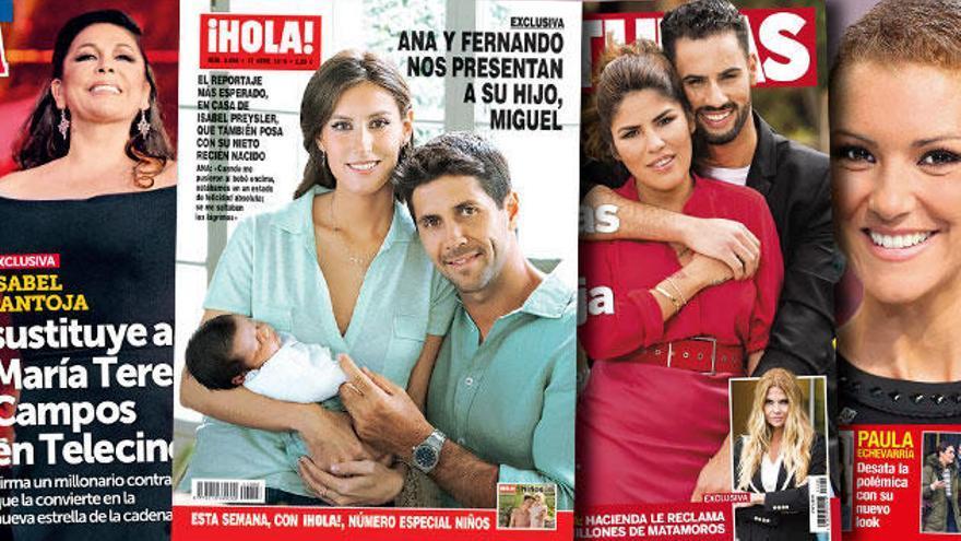 La Pantoja y la Campos, guerra a la vista: la tonadillera se hace con el reinado en Tele5