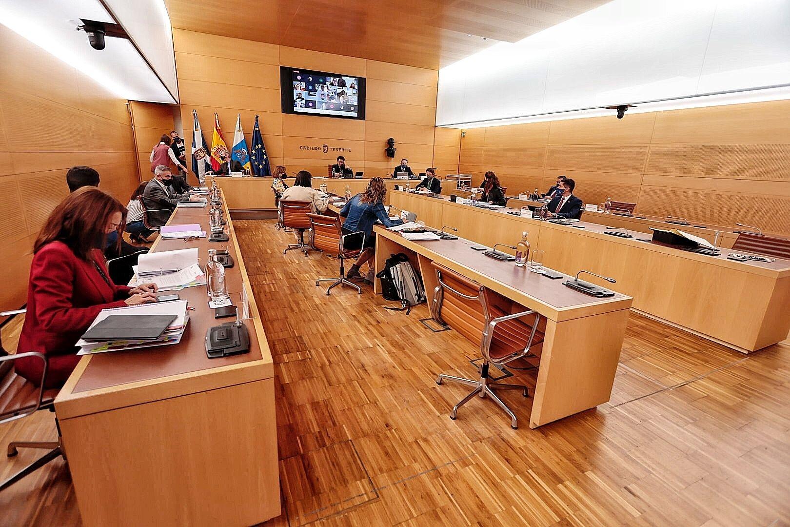 Pleno del Cabildo de Tenerife 30/04/2021