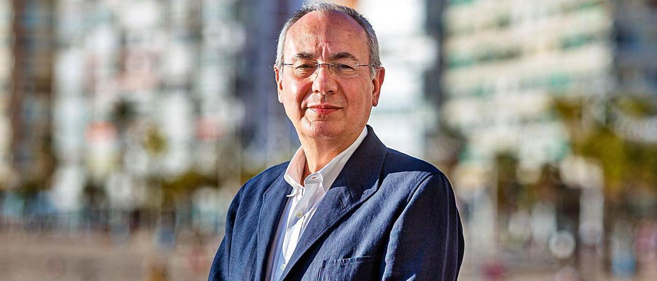 El presidente de la Fundación Frax, Marías Pérez Such.