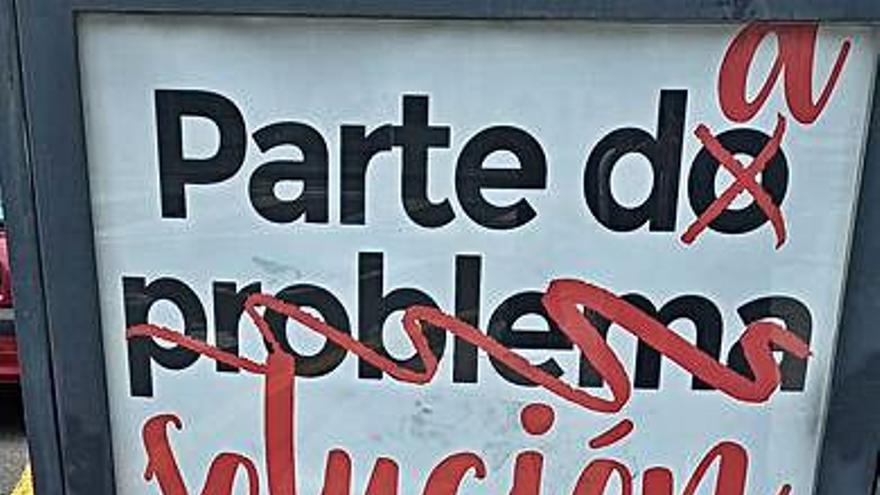 """El PSOE califica unos carteles municipales de """"propaganda política"""""""