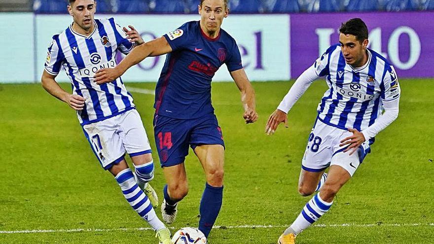 L'Atlètic és més líder amb una victòria a Anoeta (0-2)