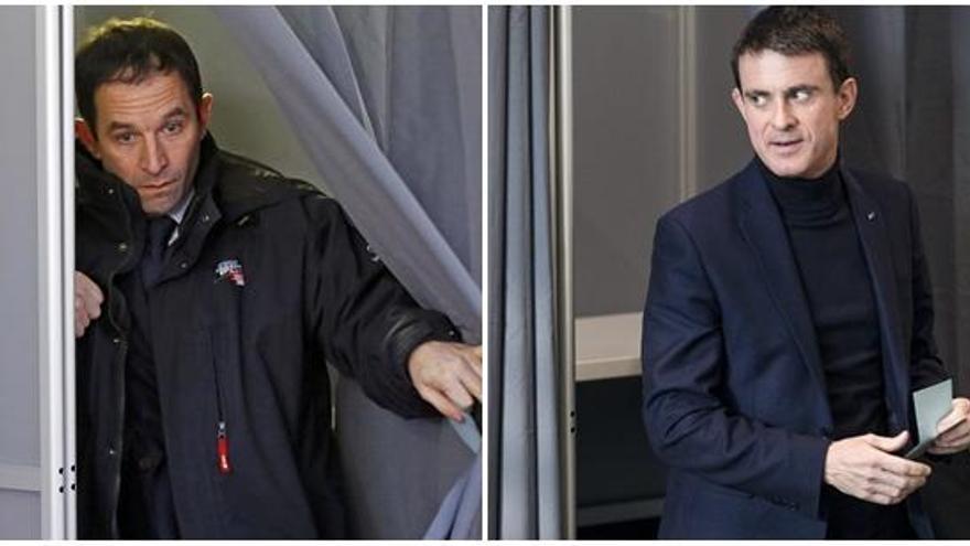 Valls y Hamon empiezan su lucha en el PS francés