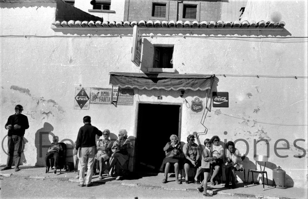 JAVEA, TURISTAS 1971