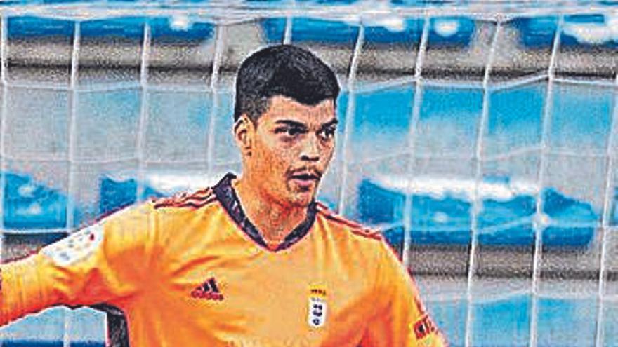 El portero del Real Oviedo Brazão, convocado con la selección olímpica de Brasil