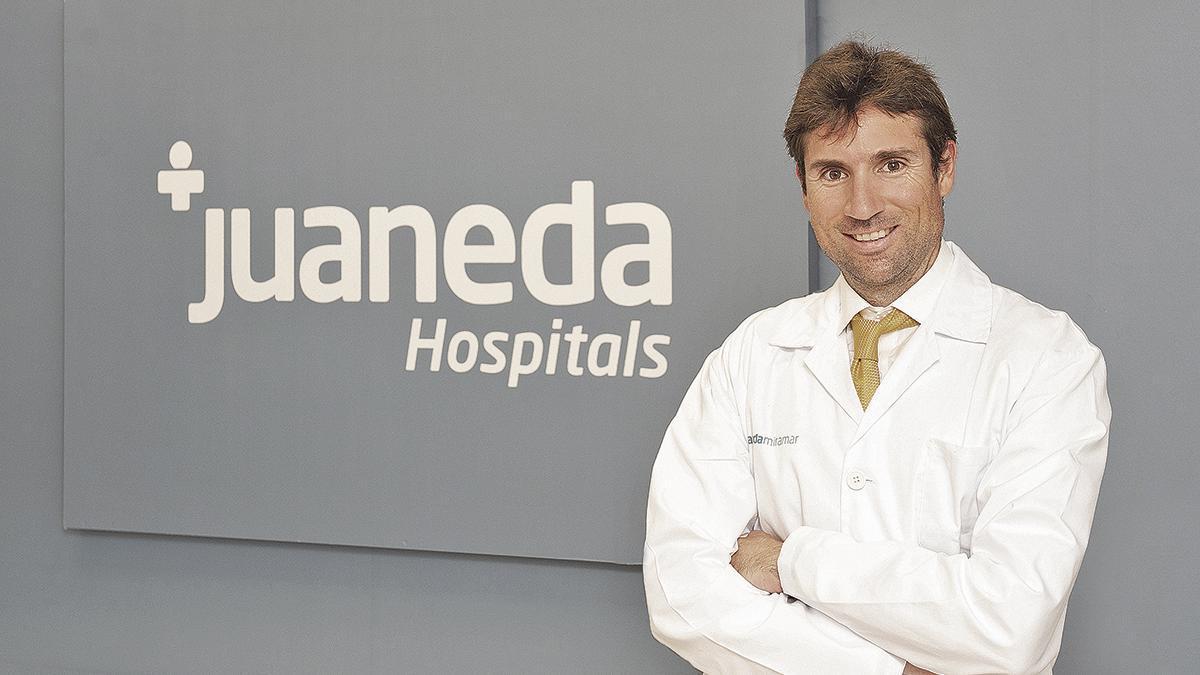 El doctor Hugo del Castillo,  un experto en la Unidad de Cardiología del Hospital Juaneda Miramar.